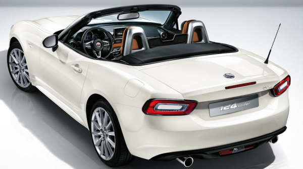 fiat 124 spider offerta be free. Black Bedroom Furniture Sets. Home Design Ideas
