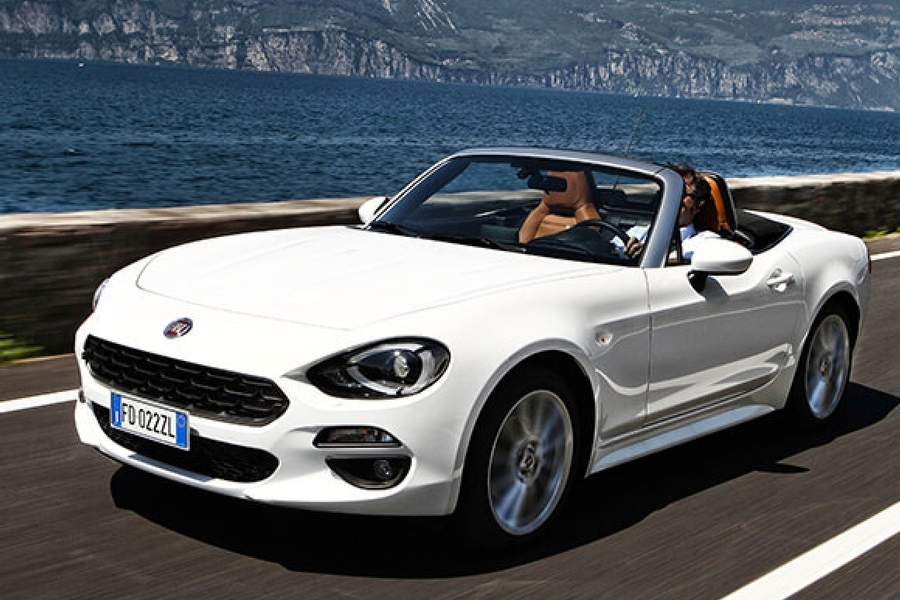fiat 124 spider be free. Black Bedroom Furniture Sets. Home Design Ideas
